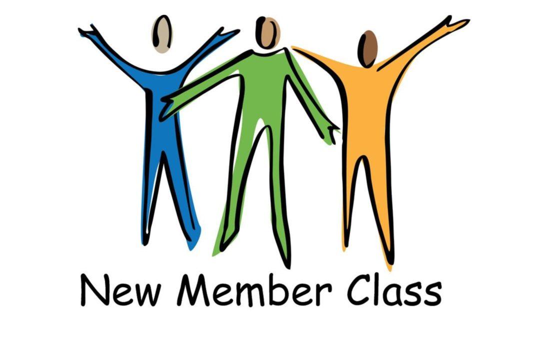 New Member Class – Oct. 26