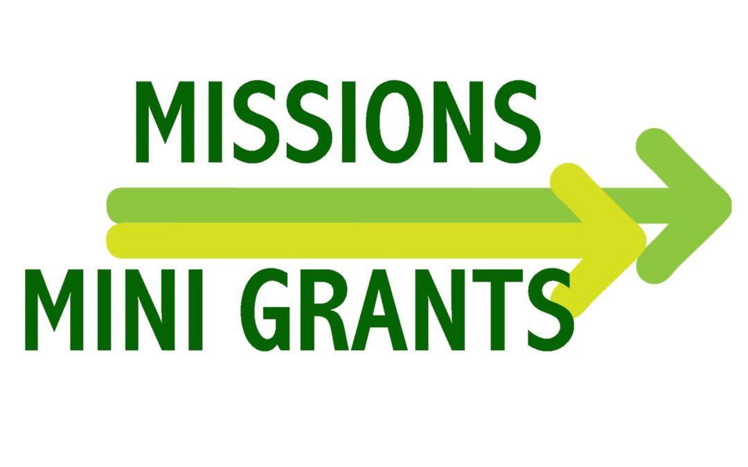 2016 Mini Grant Program Awards