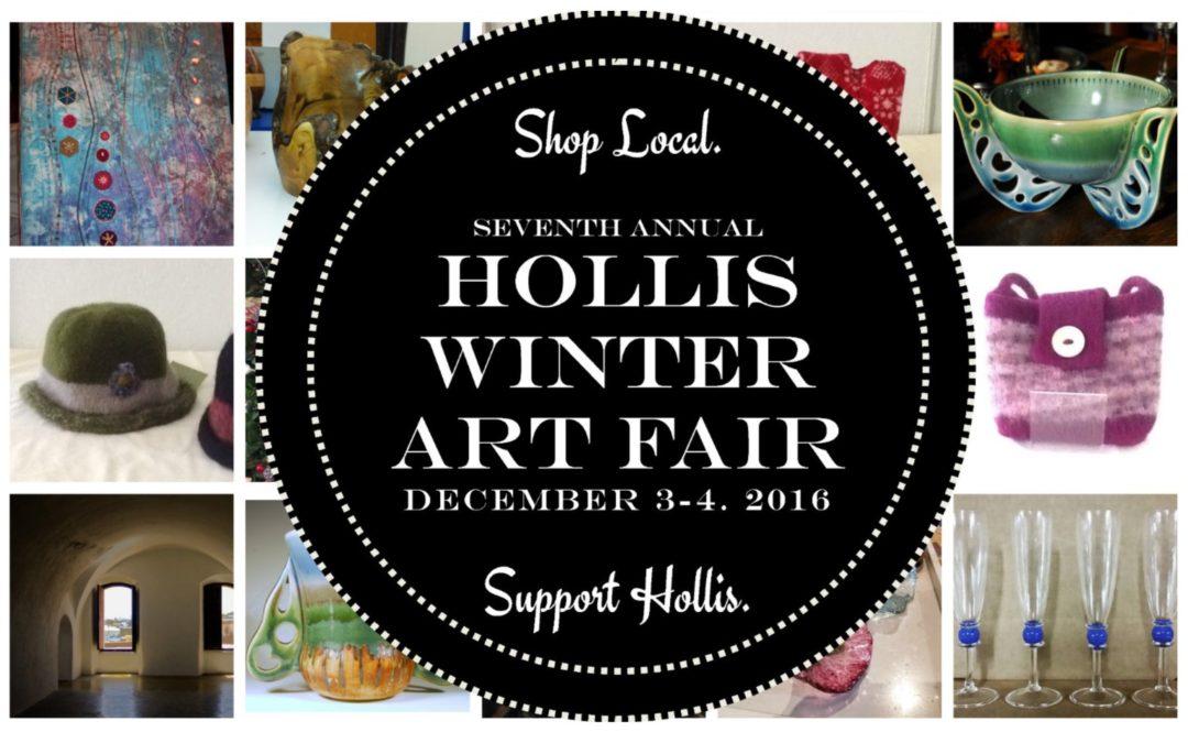 Hollis Winter Art Fair – Dec. 3-4