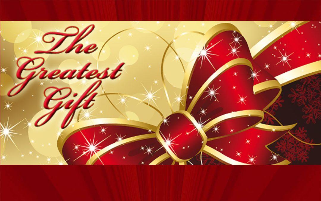 Children's Christmas Program: Jesus-God's Greatest Gift