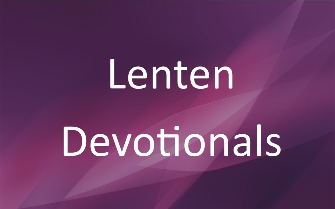 Lenten Devotionals 2017