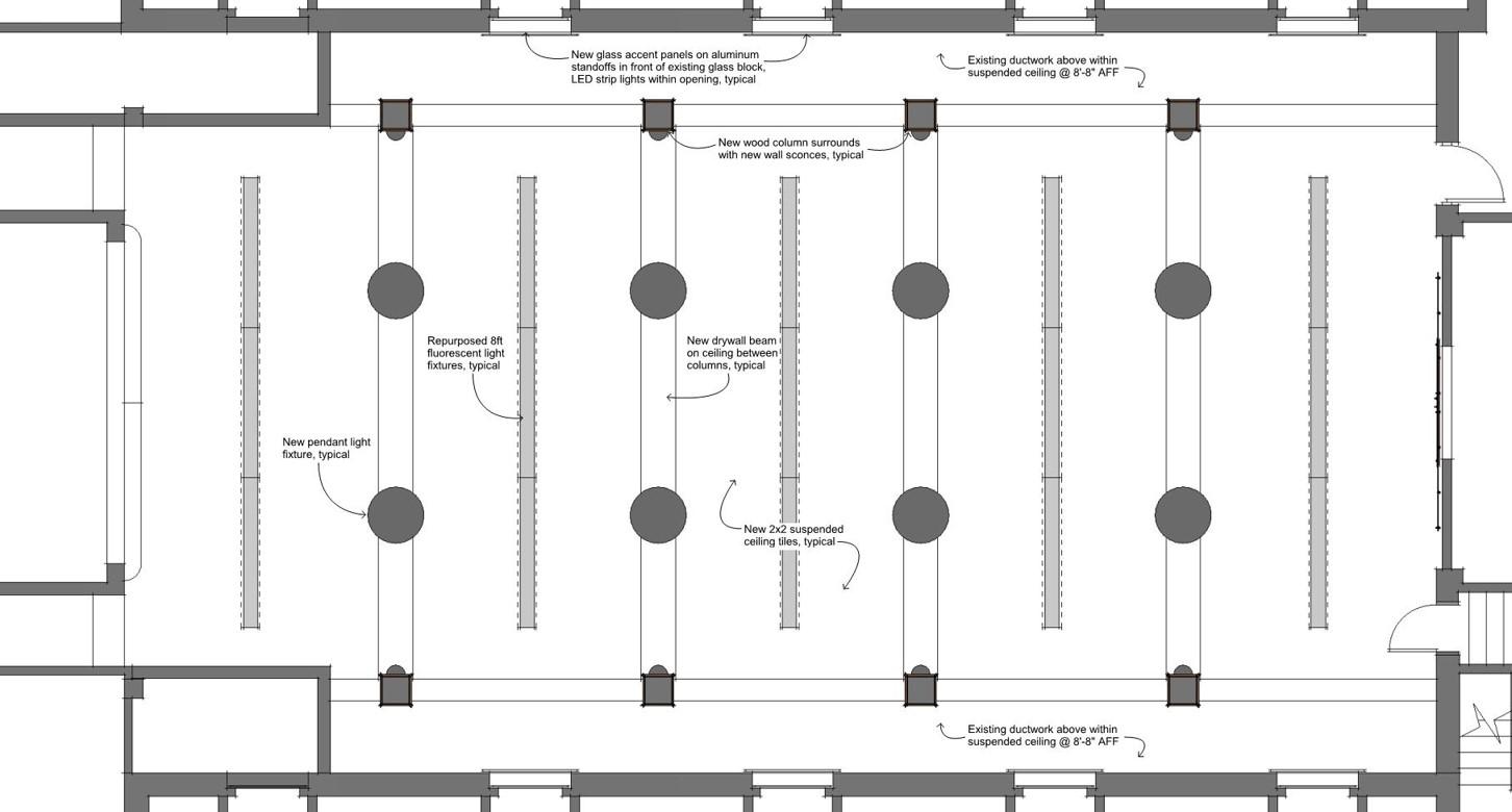 Concept Drawing 5 - Floor Plan
