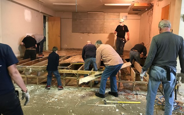 Mission Campus: Fellowship Hall Renovation Update