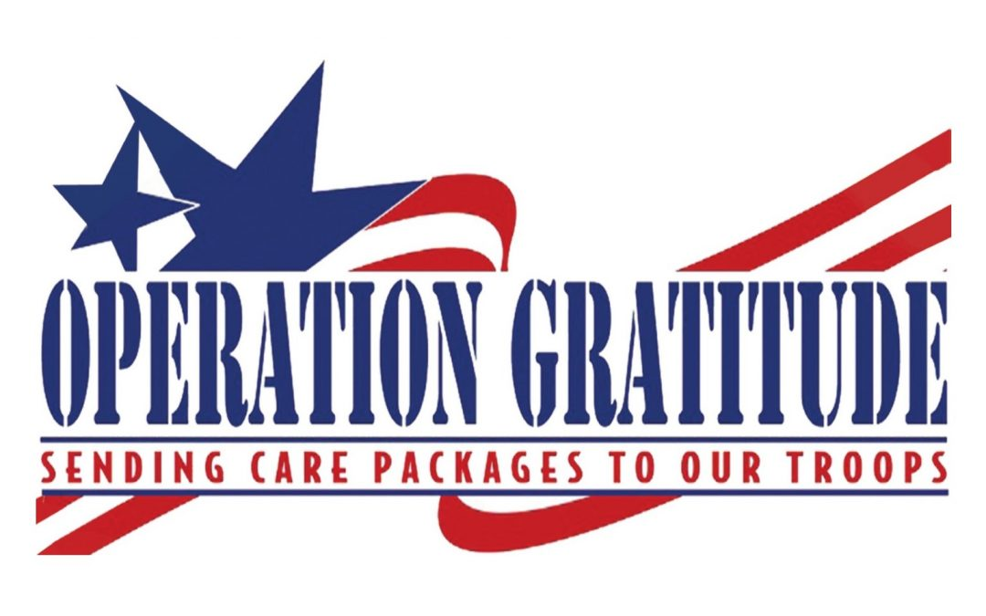 CONNECT Sunday School Service Project for June 11: Operation Gratitude