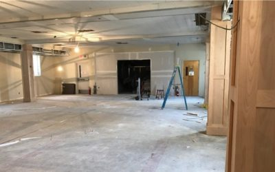 Fellowship Hall Renovation Update – August 16